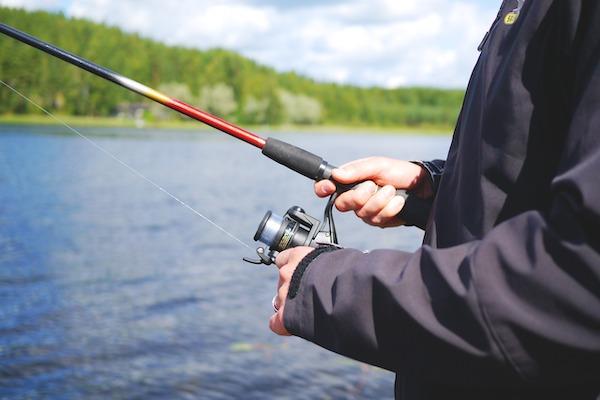 Betriebsausflug Angeln fischen